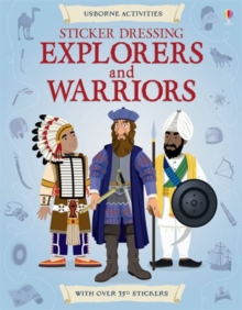 Sticker Dressing Explorers & Warriors, Paperback Book