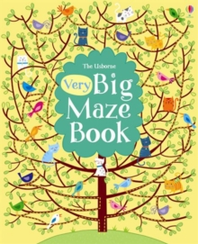 Very Big Maze Book, Paperback Book