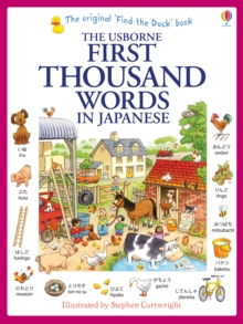 First Thousand Words in Japanese, Paperback / softback Book