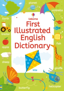 First Illustrated English Dictionary, Paperback Book