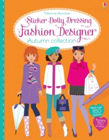 Sticker Dolly Dressing Fashion Designer Autumn Collection, Paperback / softback Book