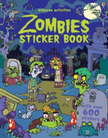 Zombies Sticker Book, Paperback Book