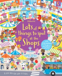 Lots of Things to Spot at the Shops Sticker Book, Paperback / softback Book