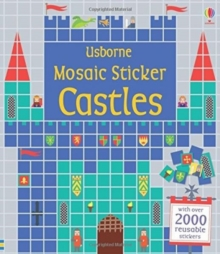 Mosaic Sticker Castles, Paperback Book