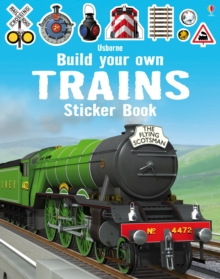 Build Your Own Trains Sticker Book, Paperback Book