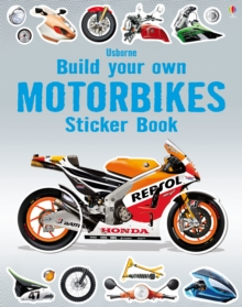 Build Your Own Motorbikes Sticker Book, Paperback Book