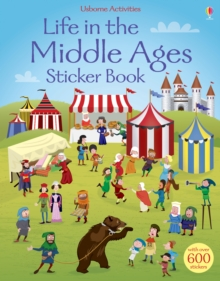Life in the Middle Ages Sticker Book, Paperback Book