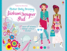 Sticker Dolly Dressing Fashion Pad, Paperback Book