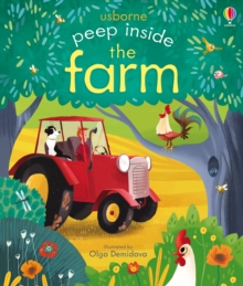 Peep Inside the Farm, Board book Book