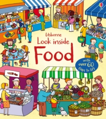 Look Inside Food, Board book Book