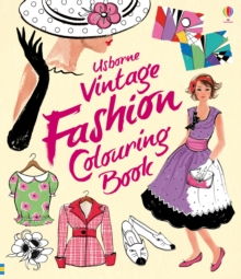 Vintage Fashion Colouring Book, Paperback / softback Book
