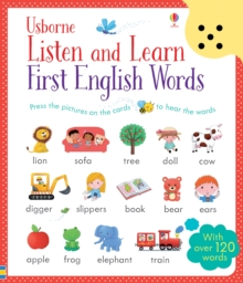 Listen and Learn First English Words, Paperback / softback Book