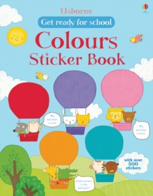 First Colours Sticker Book, Paperback Book