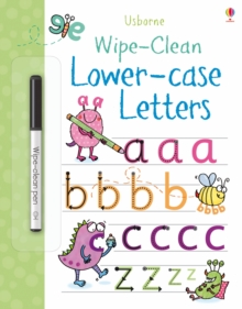 Wipe-Clean Lower-Case Letters, Paperback / softback Book