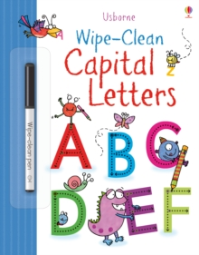 Wipe-clean Capital Letters, Paperback / softback Book