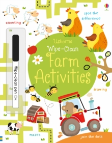 Wipe-Clean Farm Activities, Paperback Book