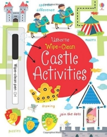 Wipe-clean Castle Activities, Paperback / softback Book