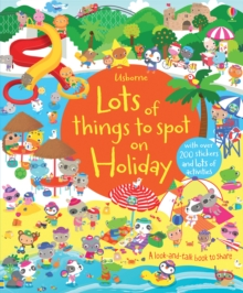 Lots of Things to Spot on Holiday, Paperback Book