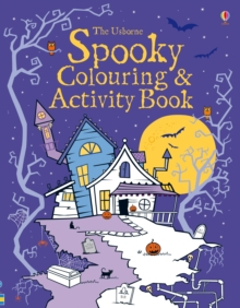 Spooky Colouring and Activity Book, Paperback Book