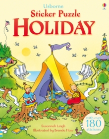 STICKER PUZZLE HOLIDAY, Paperback Book