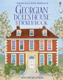 Georgian Doll's House Sticker Book, Paperback Book