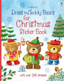 Dress the Teddy Bears for Christmas, Paperback Book