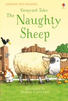 Farmyard Tales the Naughty Sheep, Hardback Book