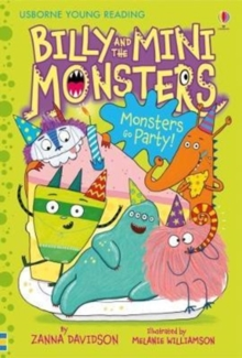 Billy and the Mini Monsters Monsters Go Party!, Hardback Book