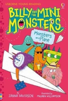 Billy and the Mini Monsters - Monsters On A Plane, Hardback Book