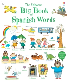Big Book of Spanish Words, Board book Book