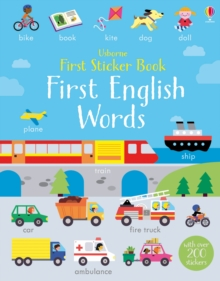 First Sticker Book First English Words, Paperback Book