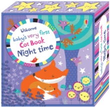 Baby's Very First Cot Book Night Time, Rag book Book