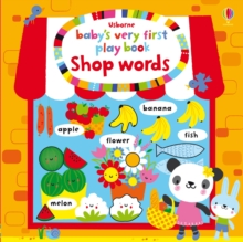 Baby's Very First Play Book Shop Words, Board book Book