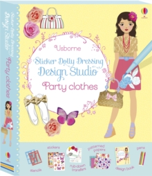 Sticker Dolly Dressing Design Studio Party Clothes, Undefined Book