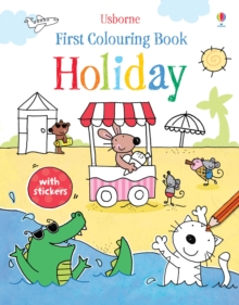 First Colouring Book Holiday, Paperback / softback Book