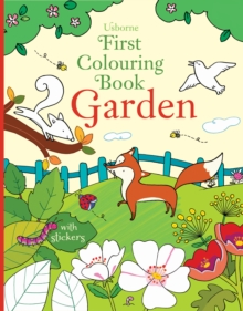 First Colouring Book Garden, Paperback Book