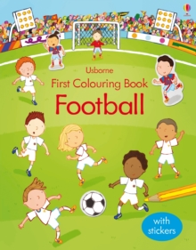 First Colouring Book Football, Paperback / softback Book