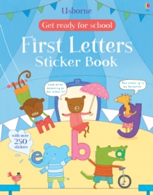 Get Ready for School First Letters Sticker Book, Paperback / softback Book