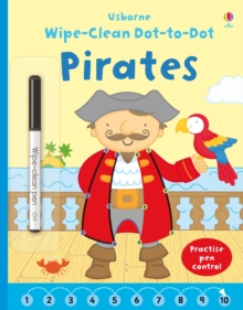 Wipe Clean Dot-to-Dot Pirates, Paperback Book