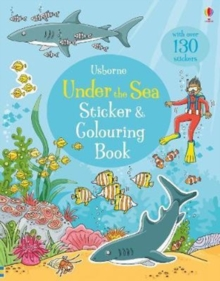 Under the Sea Sticker and Colouring Book, Paperback Book