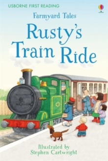 Farmyard Tales Rusty's Train Ride, Hardback Book