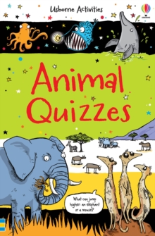 Animal Quizzes, Paperback / softback Book