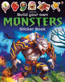 Build Your Own Monsters Sticker Book, Paperback / softback Book