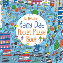 Rainy Day Pocket Puzzle Book, Paperback Book