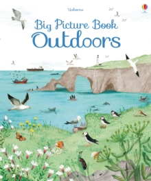 Big Picture Book Outdoors, Hardback Book