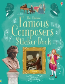 Famous Composers Sticker Book, Paperback Book