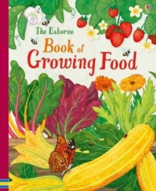 The Usborne Book of Growing Food, Spiral bound Book