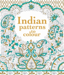 Indian Patterns to Colour, Paperback Book