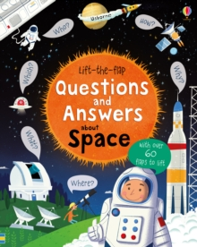 Lift-the-Flap Questions and Answers About Space, Board book Book