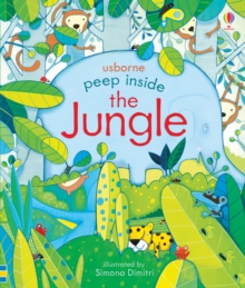 Peep Inside the Jungle, Board book Book